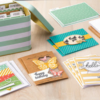 Tin of Cards Project Kit by Stampin' Up!