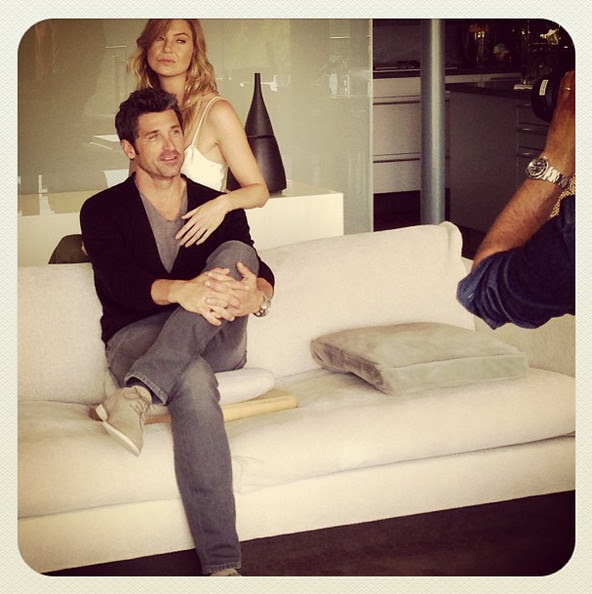 Ellen Pompeo And Patrick Dempsey Gear Up For A New Season Of Greys