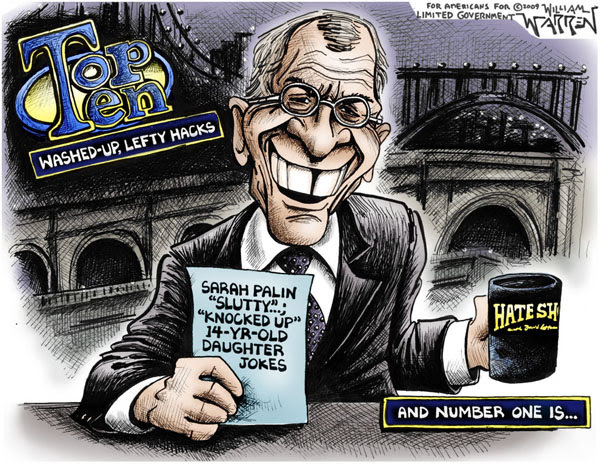 Letterman Cartoon