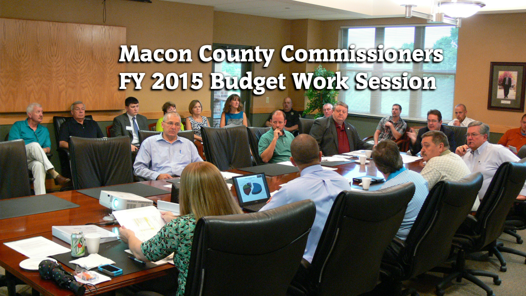 FY 2015 County Budget Work Session