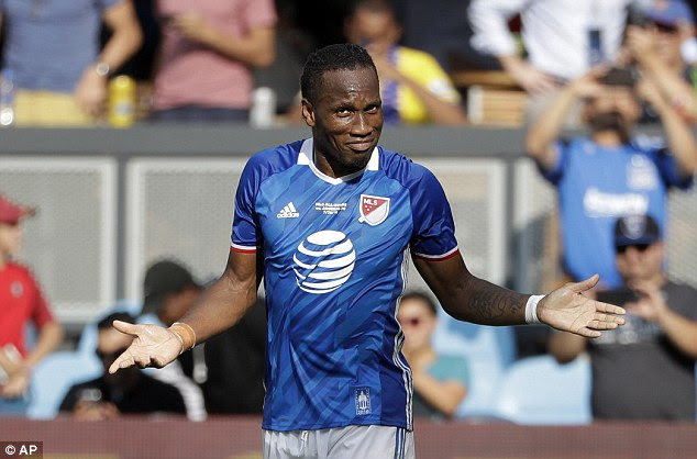 Didier Drogba refused to play for Montreal Impact after learning he'd start on the bench