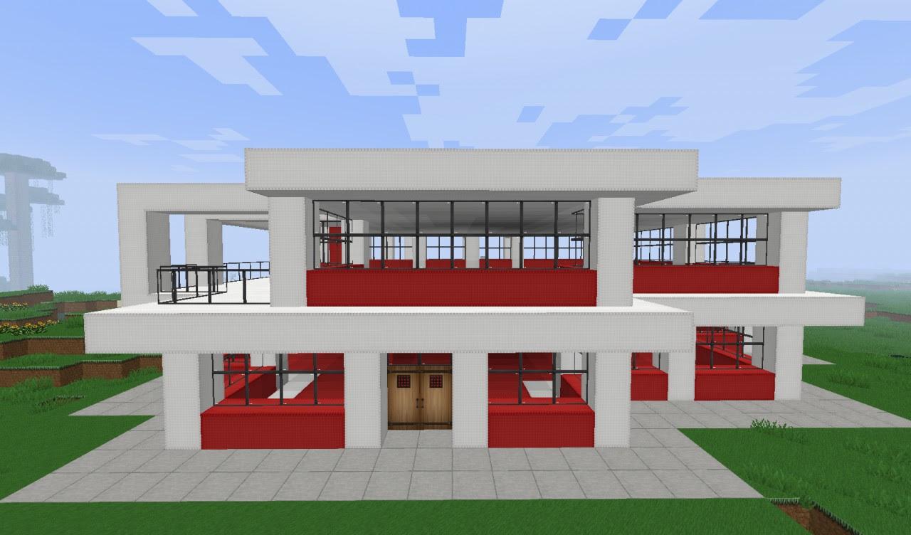 Newest 24 Simplemodern House Minecraft