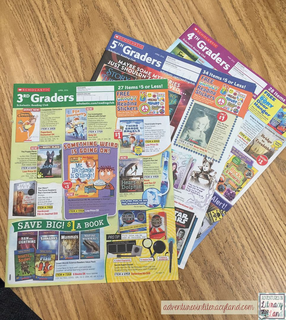 Using book orders can help students better understand that tough skill of author's purpose!