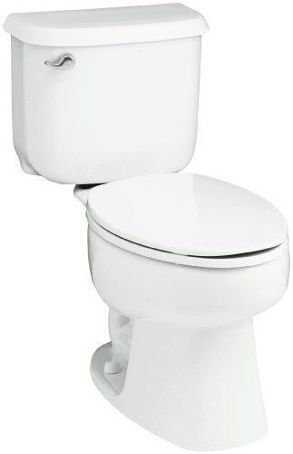 Sterling 402079 0 Windham 14 Inch Rough In Elongated Toilet White