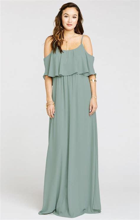 17 Best ideas about Sage Bridesmaid Dresses on Pinterest