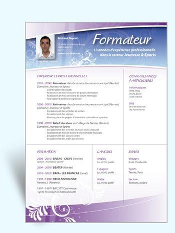 14 Free Cv D Un Formateur En Informatique Download Docx Pdf
