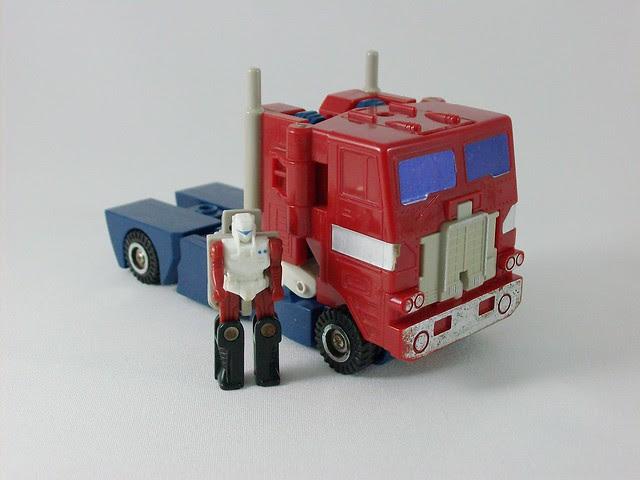 Transformers Powermaster Optimus Prime G1 - modo Truck Cab
