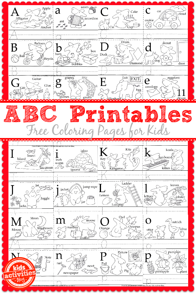 Learn to Write the ABC