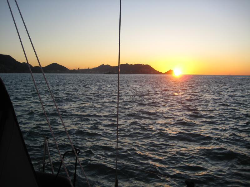 Wild Tigris - sunrise outside of Cartagena