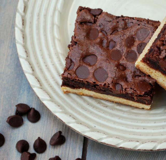 Double Decker brownies