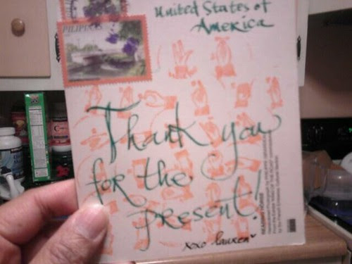 Thank you @123sajeepney For This Cool Sign Language-stamped Postcard!