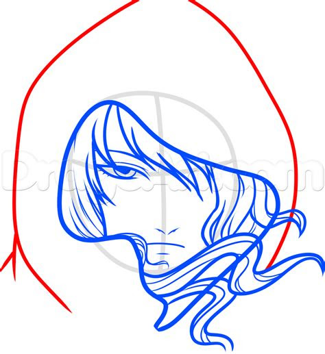 draw  hooded anime character step  step anime