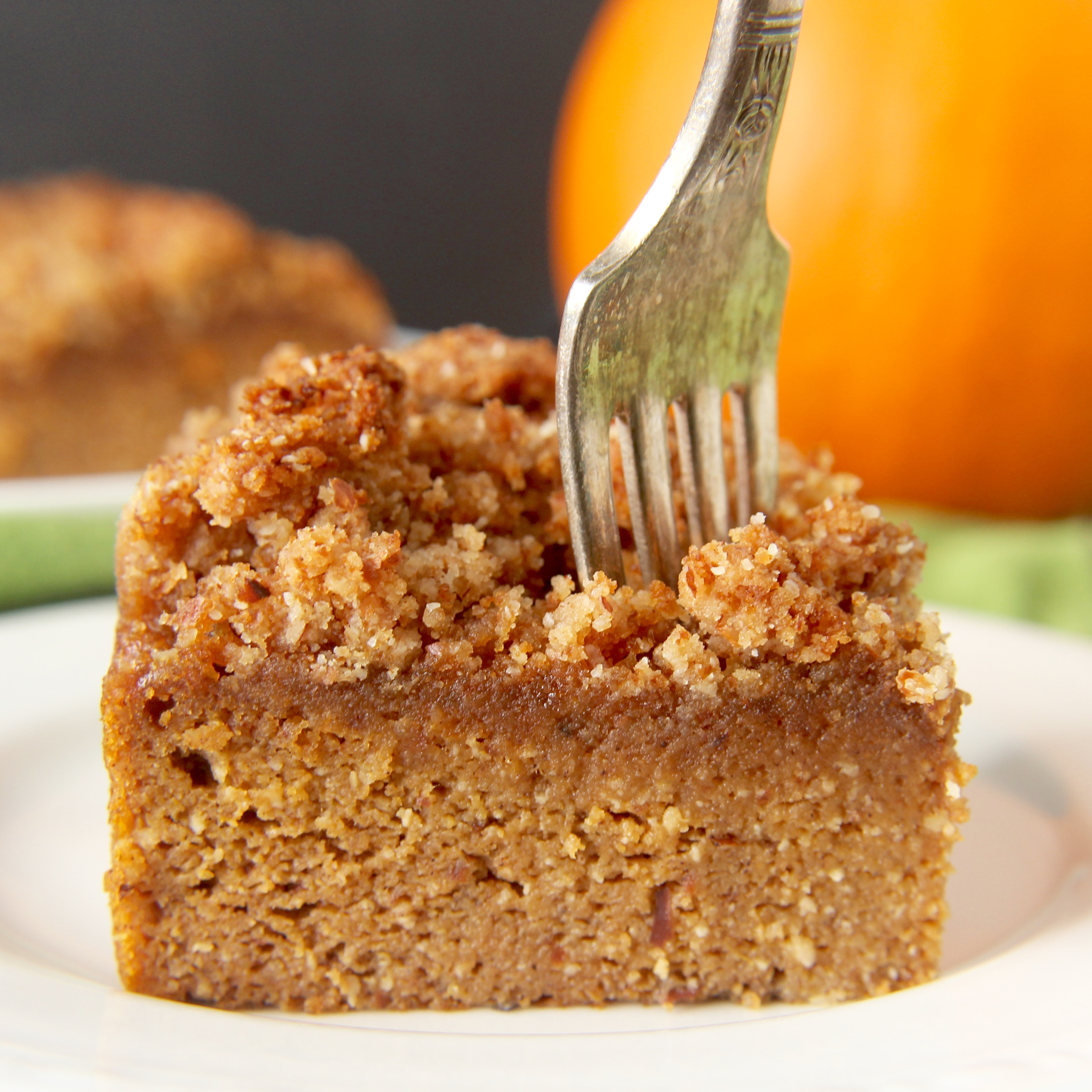 Paleo Pumpkin Coffee Cake - Jay's Baking Me Crazy