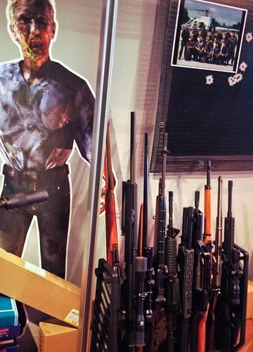 resident evil EA shooting bar