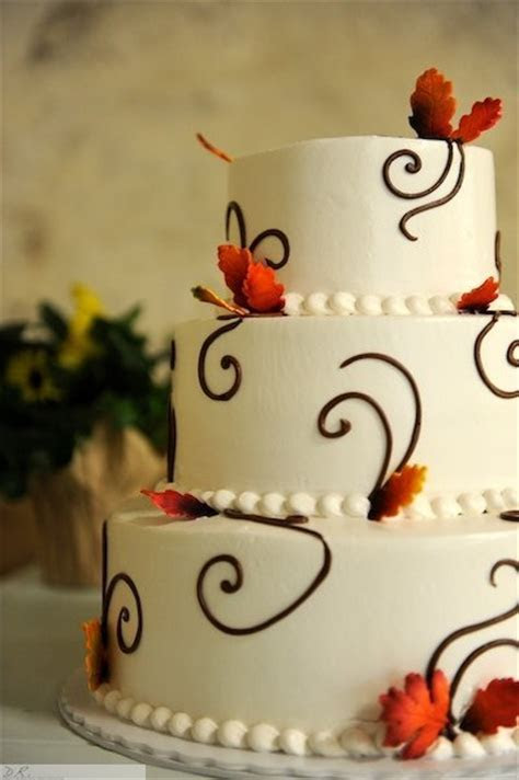 autumn wedding cakes   A Wedding Cake Blog
