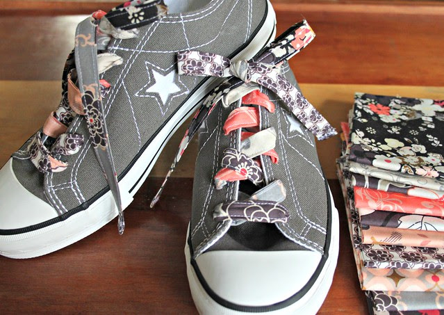 A Scrappy Patchwork Shoelace Tutorial