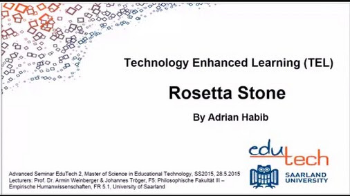Rosetta Stone EduTech Video Project