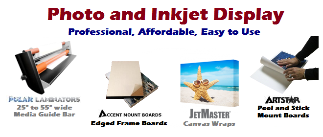 Photo Mounting Boards And Adhesives