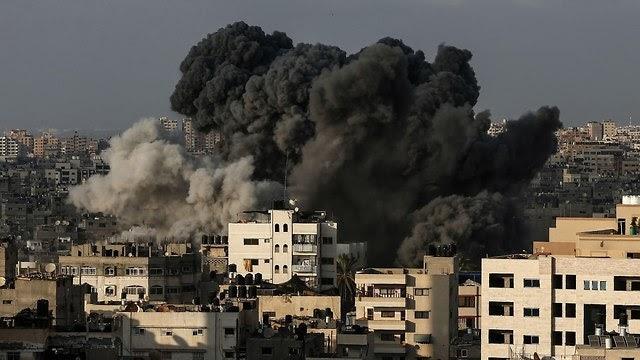 Israel atinge 150 alvos em Gaza