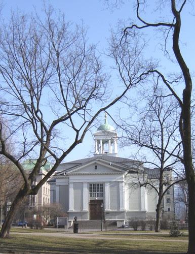 Vanha kirkko by Anna Amnell