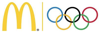 طراحی لوگو مکدونالد المپیک