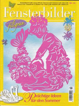 Fensterbilder filigran №14 2013 paper cutout patterns
