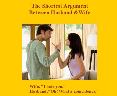 The Shortest Argument Between Husband And Wife Archives Facebook
