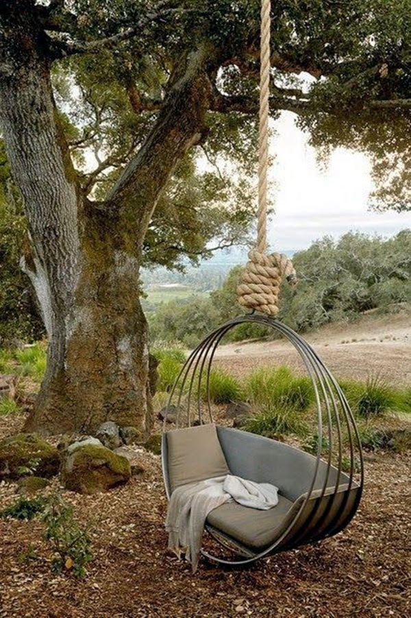 DIY Tree Swing Ideas For More Family Time (24)