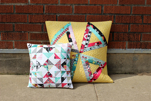 Nordika Quilted Pillows by Jeni Baker