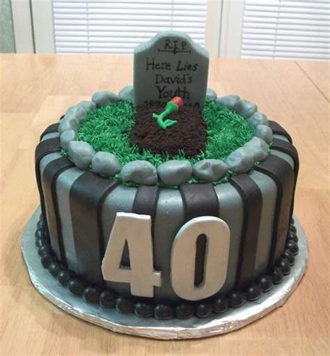 Funny Turning 40 Cake Ideas and Designs
