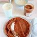 Crepes con farina di castagne e cacao alla crema di marroni