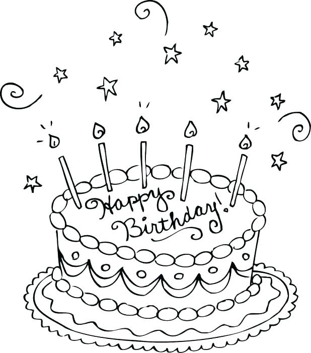 Hello Kitty Happy Birthday Coloring Pages at GetColorings ...