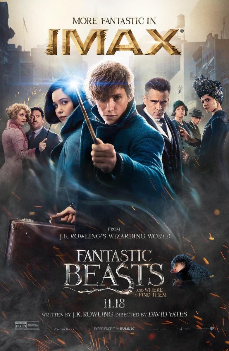 Harry Potter, Saga, J.K. Rowling, fantástico, aventuras, spin off, magia, película, cine, cartelera, animales fantásticos y donde encontrarlos, fantastic beast and where to find them, blogger alicante, solo yo, blog solo yo, blog de cine,