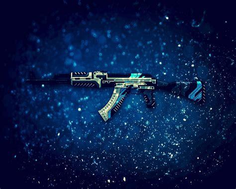 papeis de parede ak  rifle de assalto cs  jogo