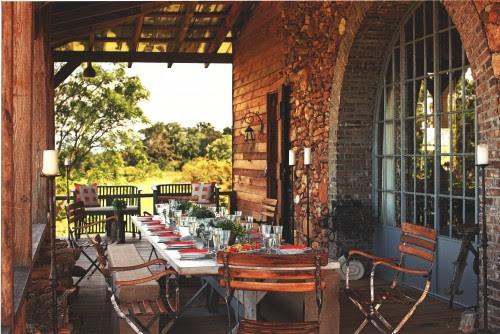 Towerhouse Farm eclectic porch