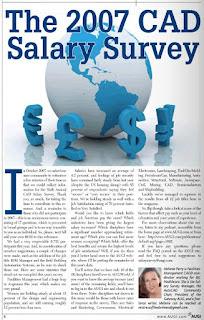 AUGIWorld - 2007 Annual AUGI Salary Survey