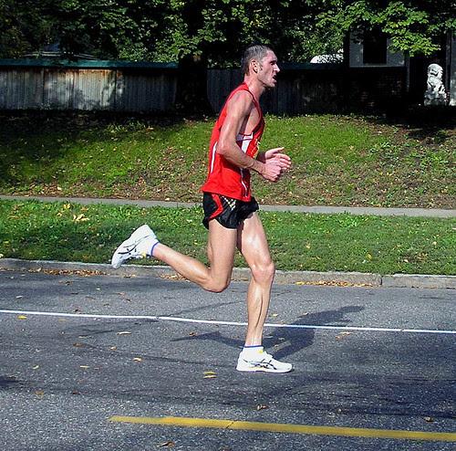 Twin Cities Marathon winner Mykola Antonenko, Ukraine