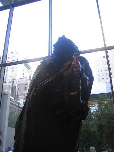 Monument to Balzac. 1898 (cast  1954), Auguste Rodin _7567