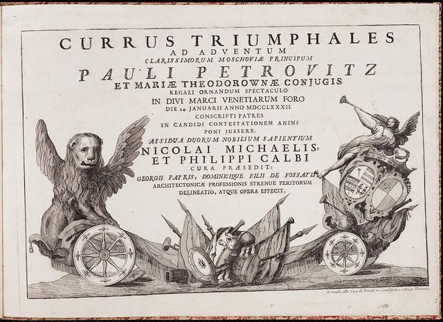 Currus Triumphales title page