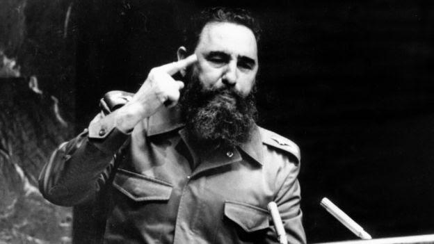 Fidel Castro ante la Asamblea de la ONU, en 1979