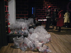The Gift bags, my incense went in there the rest is going to the WHITE HOUSE!!