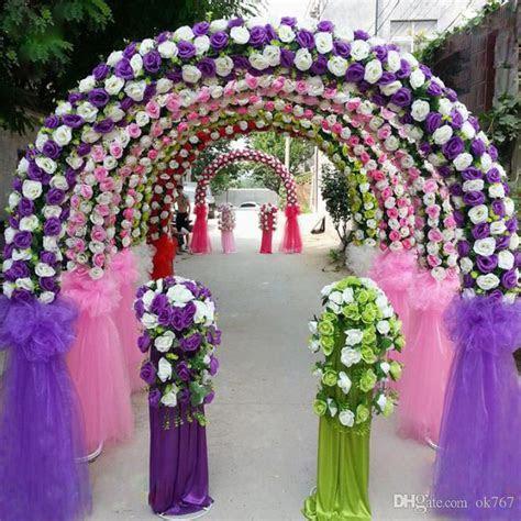 2019 Cheap DIY Wedding Decoration Props Simulation Silk