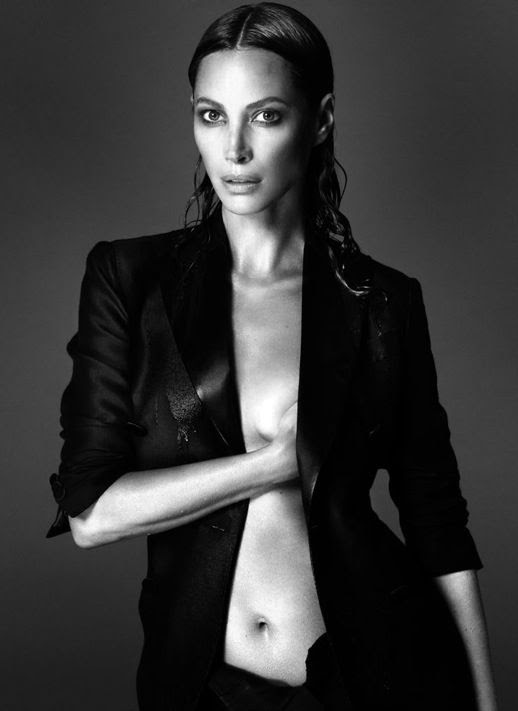 LE FASHION BLOG SUPERMODEL INTERVIEW MAGAZINE CHRISTY TURLINGTON WET SLICKED BACK HAIR TUXEDO JACKET WITH LEATHER LAPELS Mert Alas & Marcus Piggott 2 photo LEFASHIONBLOGSUPERMODELINTERVIEWMAGAZINECHIRSTYTURLINGTON2.jpg