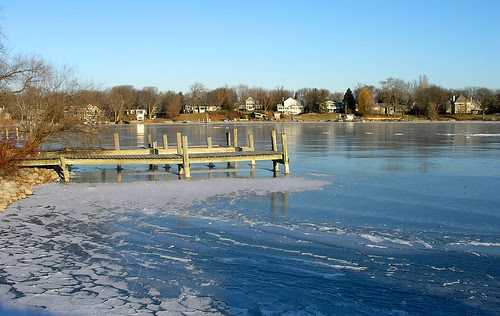 Carsons Bay, A Frozen Dock