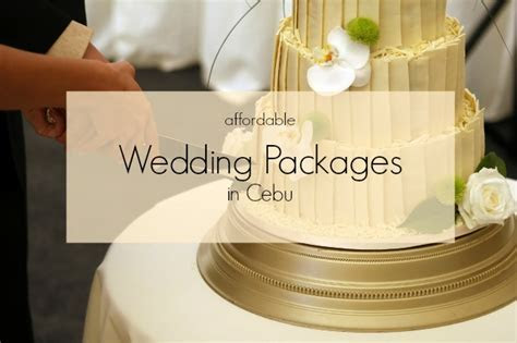 Affordable Wedding Packages in Cebu?   Chedz Cakes of Cebu