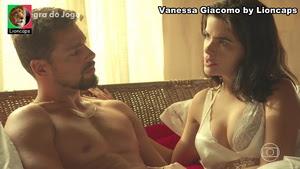 Vanessa Giacomo sensual na novela A Regra do Jogo