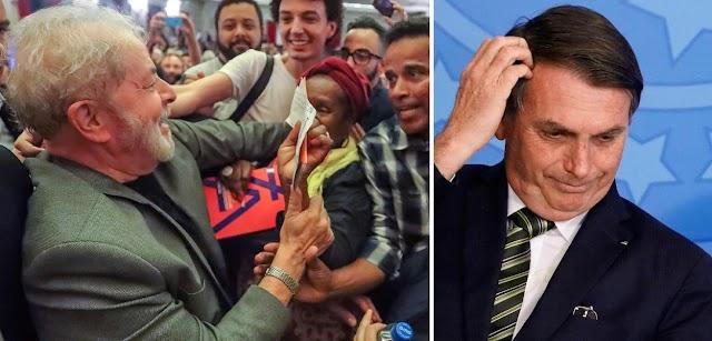 Apoio de Lula será decisivo em 2020; o de Bolsonaro irá prejudicar