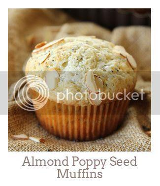 """Almond Poppy Seed Muffins"""