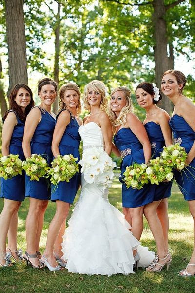 Royal Blue And Silver Done Wedding Ideas Juxtapost