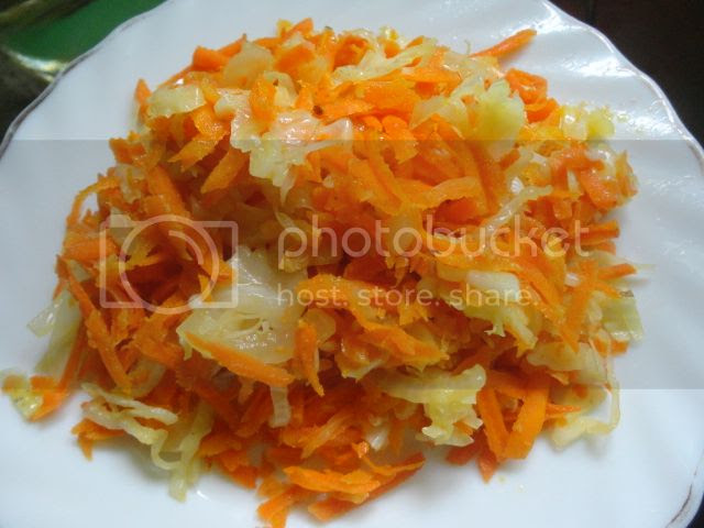Carrot and Cabbage Saute